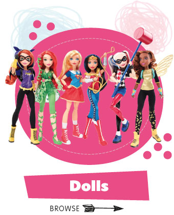 Save on Dolls at B&M.