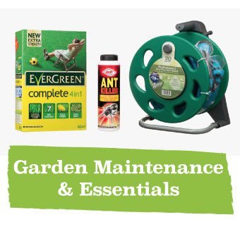 Save on Garden Essentials at B&M.