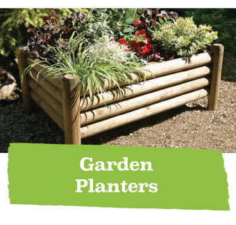 Save on Garden Planters at B&M.