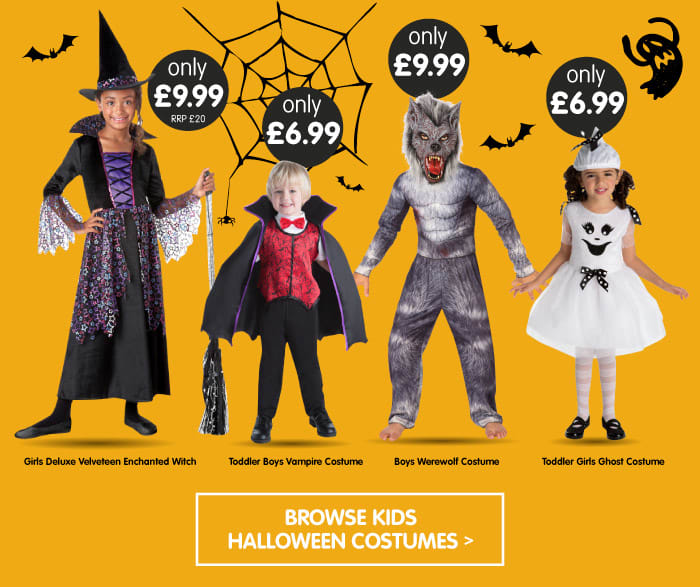 Save on Halloween Costumes at B&M.