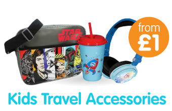 Save on Kids Travelling Accessories at B&M Stores.