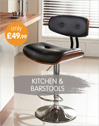 Kitchen and barstools