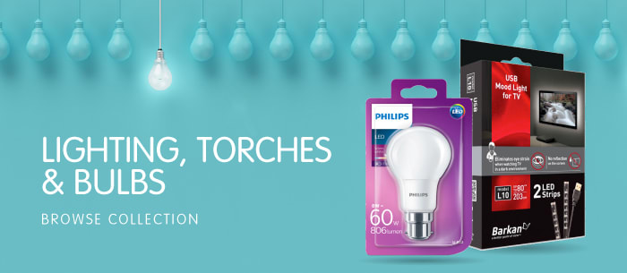 Lighting, Torches & Bulbs