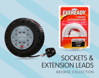 Sockets & Extension Leads