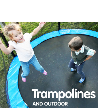 Trampolines and outdoor