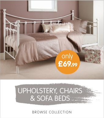 Upholstery, chairs and sofa beds