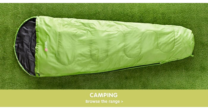 Save on Camping accessories at B&M.