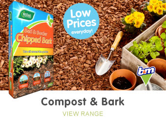 Save on compost at B&M.