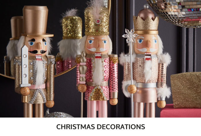 Save on Christmas Decorations at B&M.