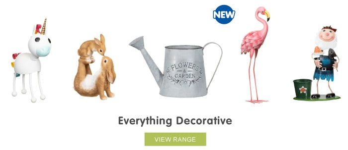 Save on decorative ornaments at B&M.