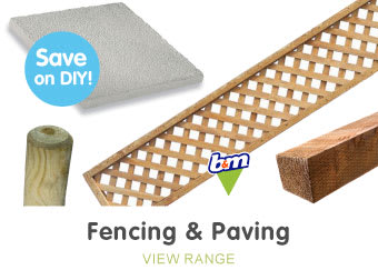 Save on fencing at B&M.