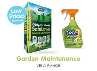 Save on Garden Maintenance at B&M.