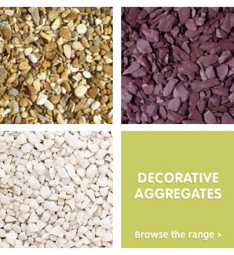Save on stones and aggregates at B&M.
