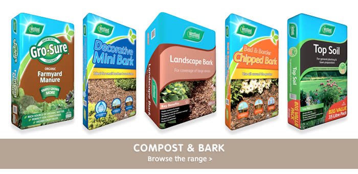 Save on compost and bark at B&M.