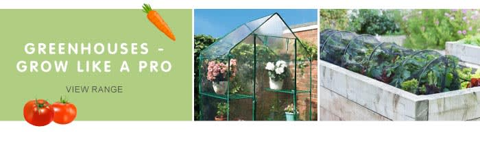 Save on Greenhouses at B&M.