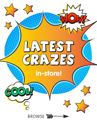 Save on the latest craze toys at B&M.