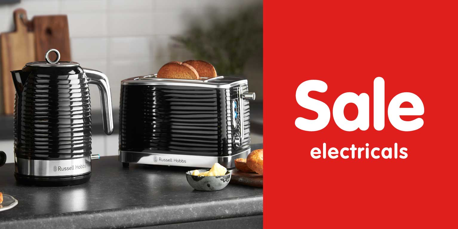 Electrical Sale now in store at B&M.