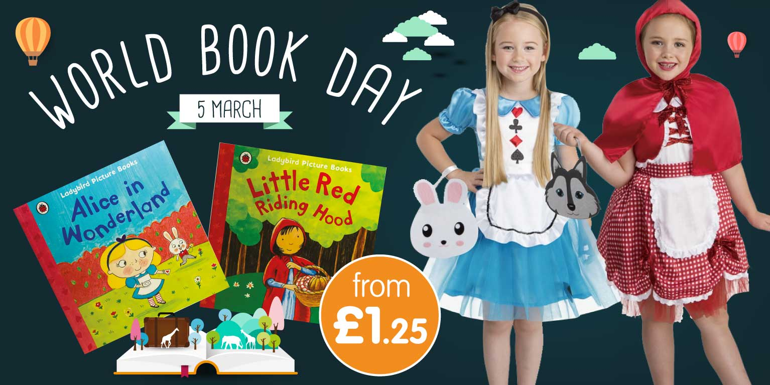 Save on World Book Day costumes at B&M.