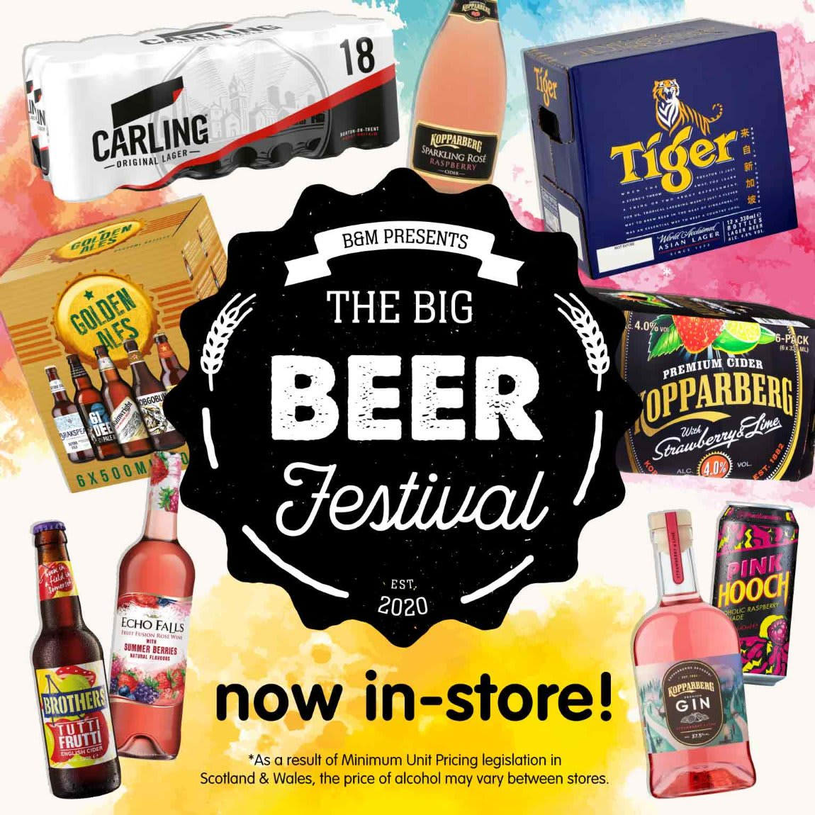Beer Festival now in store at B&M.