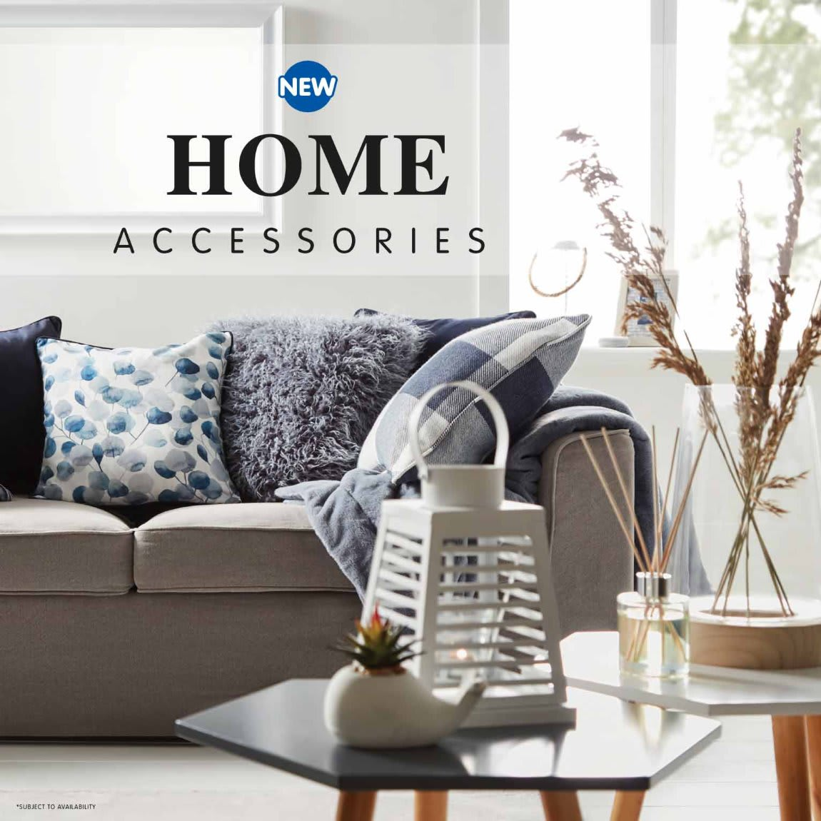 New Home Accessories in store at B&M.