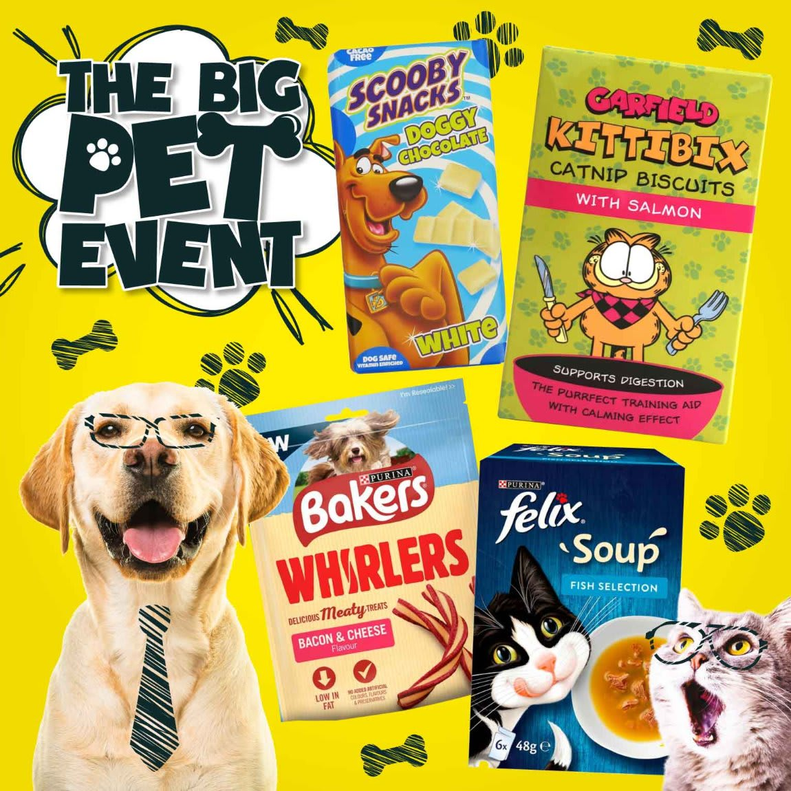 Save in the Pet Event at B&M.