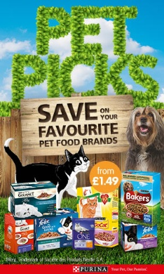 Save on your favourite pet brands at B&M.