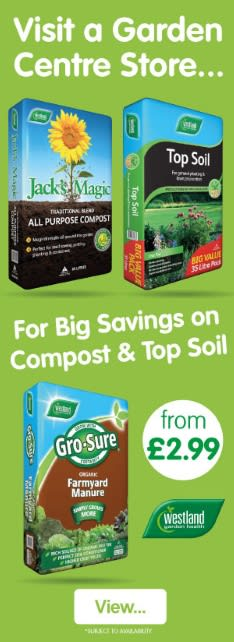 Save on Compost and Top Soil at B&M.