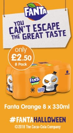 Save on Fanta at B&M.