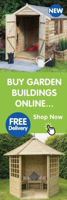 Buy Garden Buildings online at B&M.