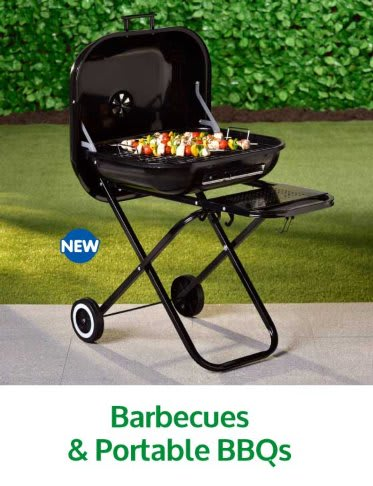 Save on barbecues at B&M.