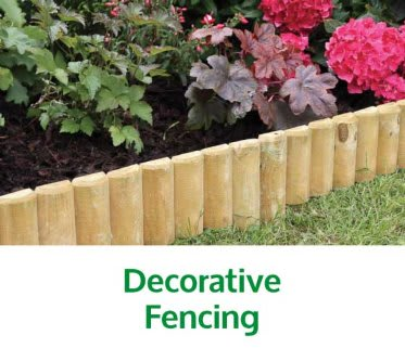 Save on Decorative Fencing at B&M.