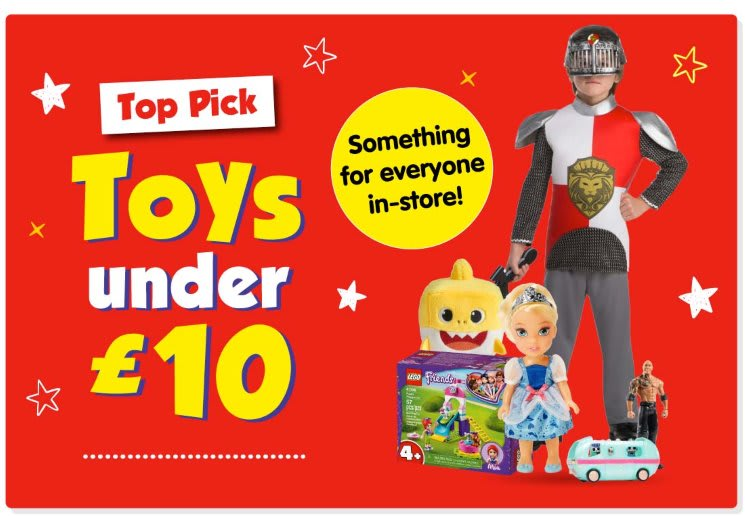 Top Toys under £10