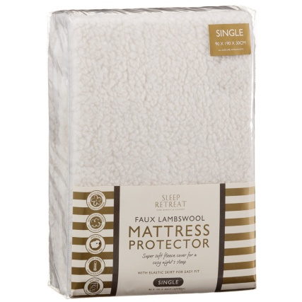234974-Faux-Lambswool-Single-Mattress-Protector1