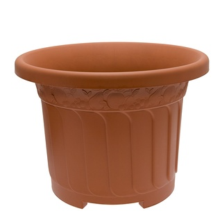 235615-Woodland-Fern-Design-Terracotta-Round-45cm-Planter-1