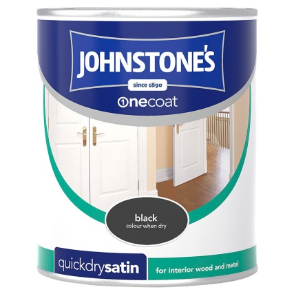 237233-Johnstones-One-Coat-Satinwood-Black-750ml-Paint