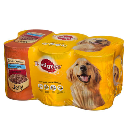 264604-Pedigree-Jelly-6x385g-Dog-Food-2