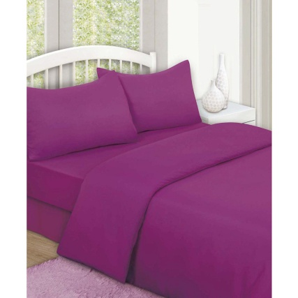 315501-315502-315503-Plain-Colour-Match-Complete-Sheet-and-Duvet-Set-purple1