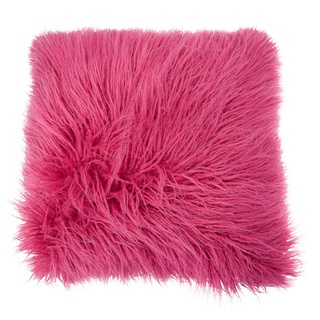 CARA Mongolian Faux Fur Oversized Cushion