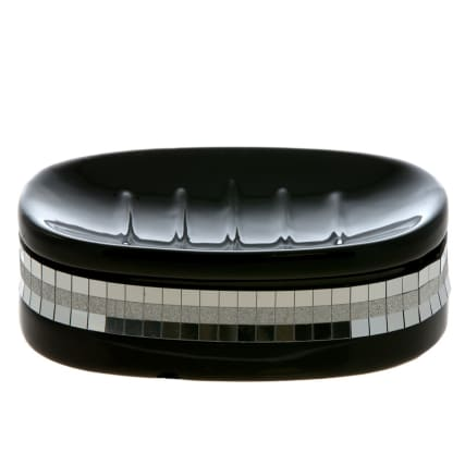 266729-Soap-Dish-Glitz-Black