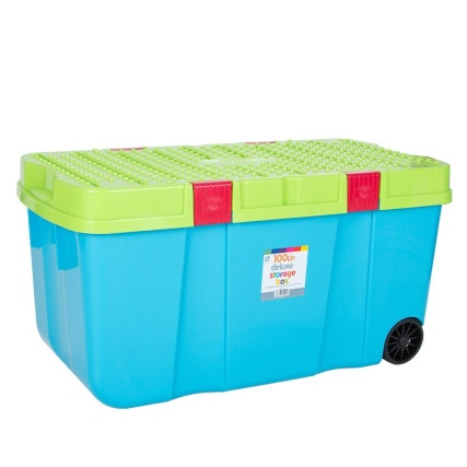 269828-100L-Heavy-Duty-Storage-Box-with-wheels-Blueberry-and-Lime