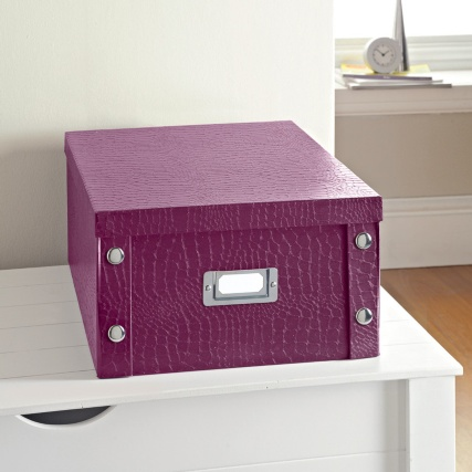274302-Large-Storage-Box-Croc-Burgundy