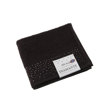 274537-Diamante-Hand-Towel-black