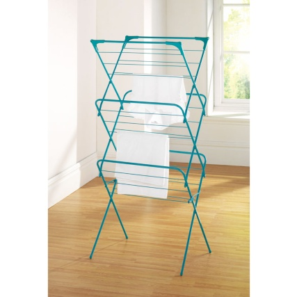 277325-3-TIER-concertina-airer-teal