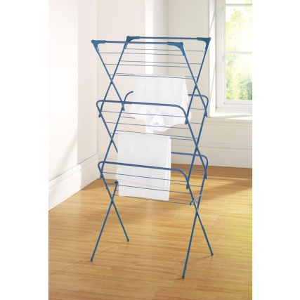 339816-3-tier-concertina-airer-blue