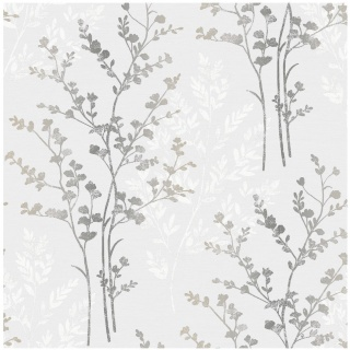 278121-Fern-Silver-Motif-Vinyl-Wallpaper