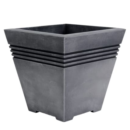 278292-Square-Milano-Planter-Pewter