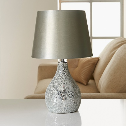 Ava Mosaic Table Lamp Lighting Lamps Table Lamp