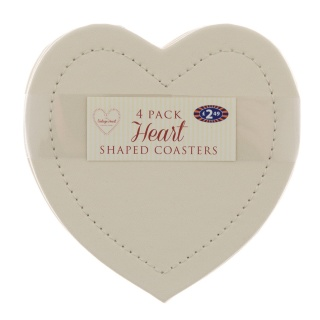 279713-4-pk-Heart-Leatherette-Coasters---Cream