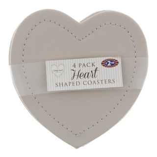 279713-4-pk-Heart-Leatherette-Coasters---Grey