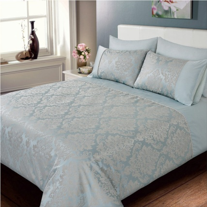 321186-321187-Jacquard-Damask-Duvet-Set-duck-egg